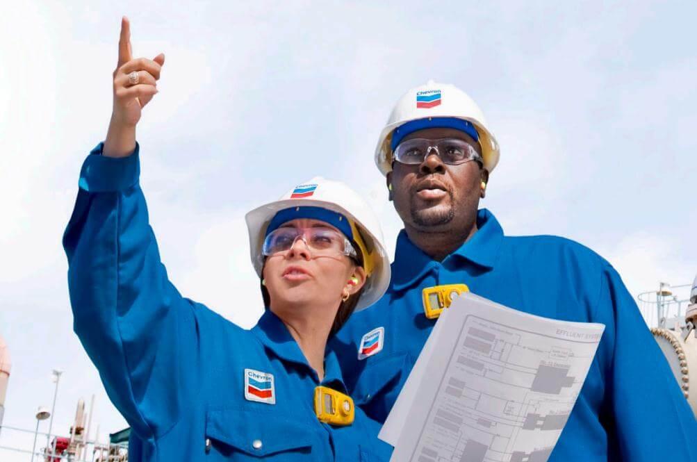 Vagas na Chevron Angola