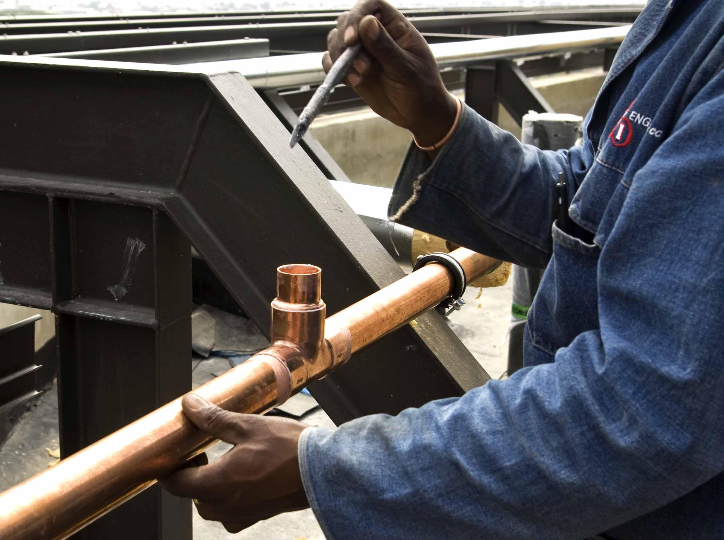 Recrutamento de canalizadores em Moçambique