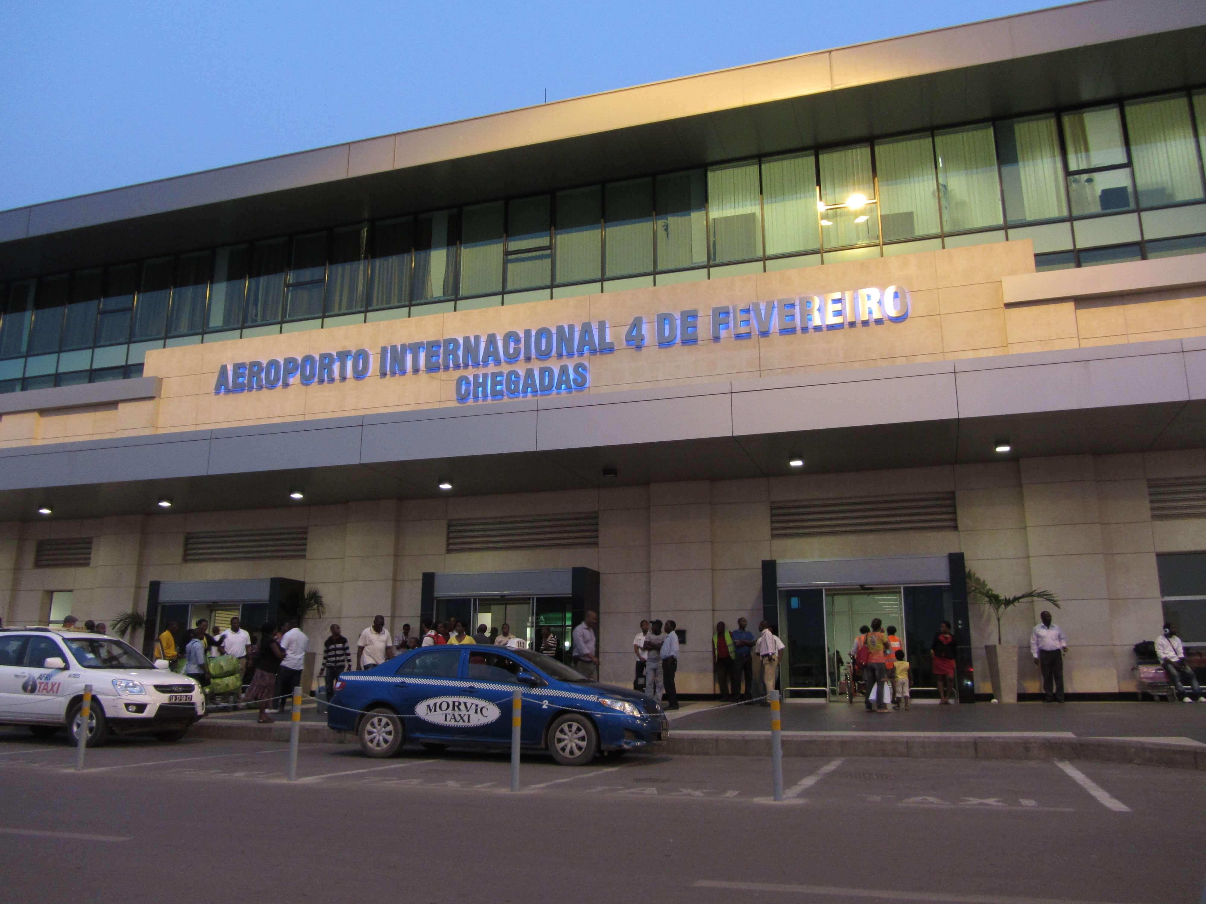 Vagas no Aeroporto Internacional 4 de Fevereiro Angola