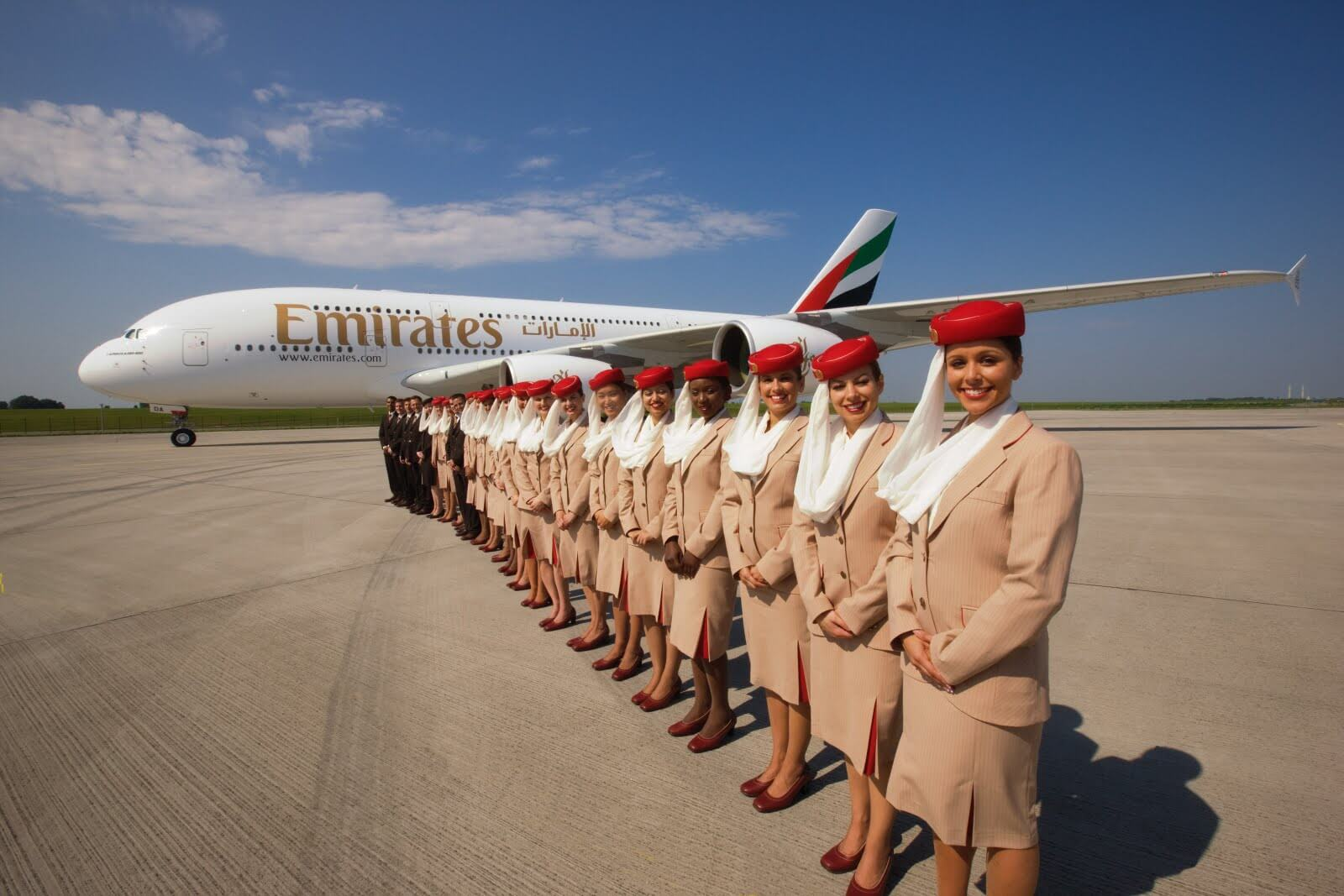 Vagas na Emirates Angola