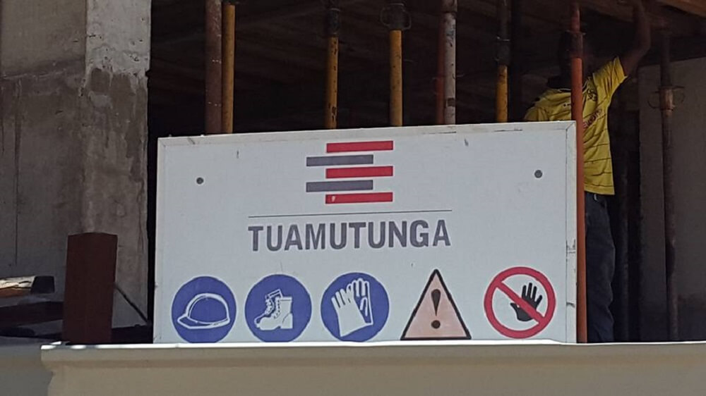 Vagas na Tuamutunga Angola